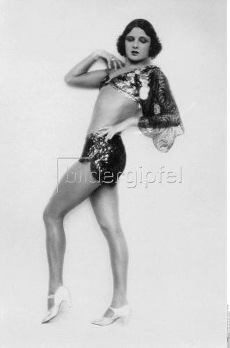 La Jana in einem knappen Kostüm, ca. 1928