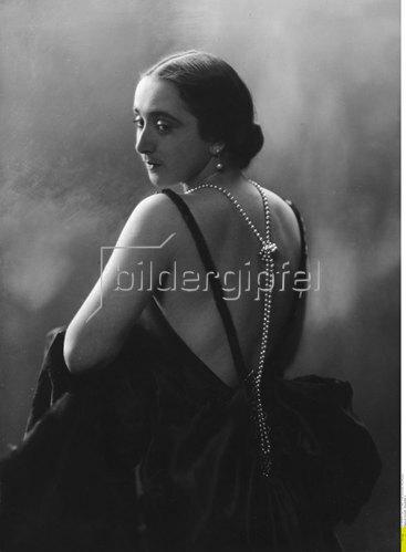 Barbara von Annenkoff - Schauspielerin, 1927