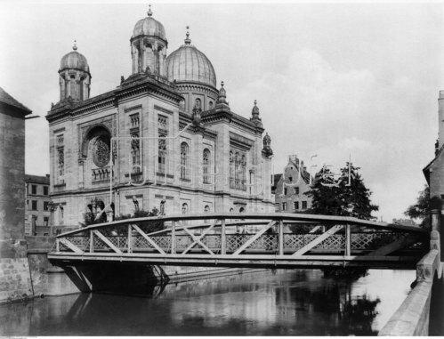 Nürnberg, Synagoge, 1900