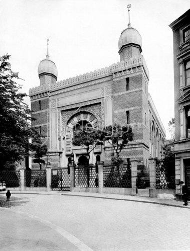 Synagoge von Aachen, 1900
