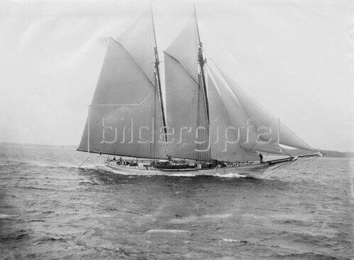 """Kaiserliche Yacht """"Iduna"""" (Stapellauf 1887)"""