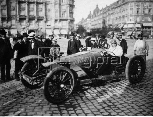 Automobilrennen - Rennfahrer Charles Jarrot 1904