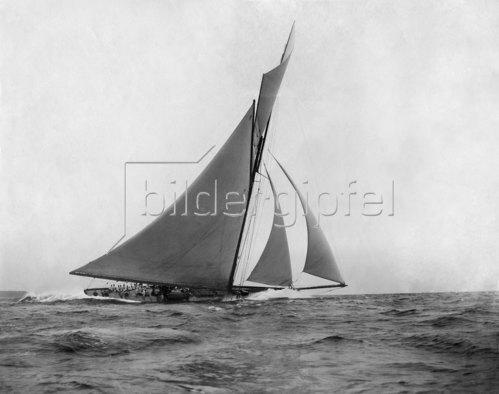 SMS 'Meteor II' die Segelyacht Kaiser Wilhelms II, 1899