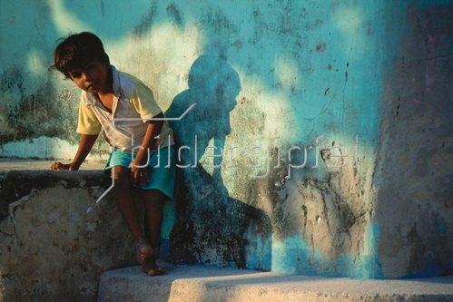 Uwe Suthmann: Kind auf den Malediven