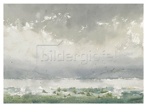 Werner Maier: Nebel über dem Bodensee