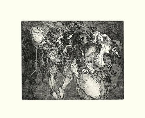 Werner Maier: Karneval in Venedig, Blatt IX