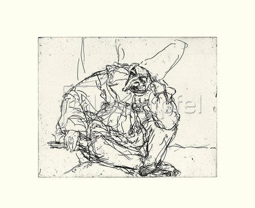 Werner Maier: Karneval in Venedig, Blatt XII