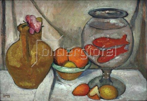 Paula Modersohn-Becker: Stilleben mit Goldfischglas, 1906