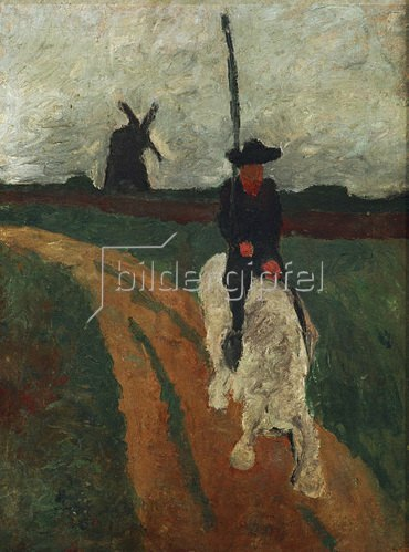 Paula Modersohn-Becker: Don Quichote, 1900