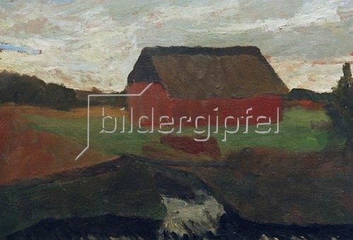 Paula Modersohn-Becker: Scheune, 1901