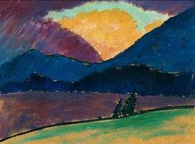 Alexej von Jawlensky: Sommerabend in Murnau