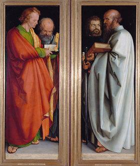 Albrecht Dürer: Die vier Apostel (Johannes.Ev., Petrus, Markus, Paulus)