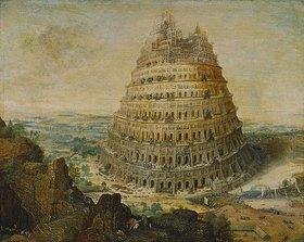 Lucas I. van Valckenborch: Der Babylonische Turmb