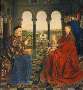 Jan van Eyck: Die Madonna des Kanzlers Rolin