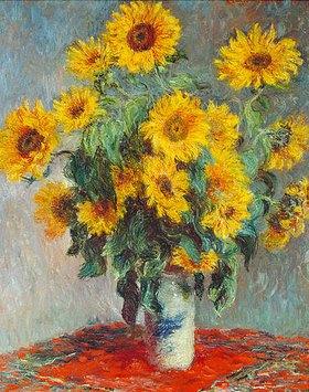 Claude Monet: Sonnenblumen