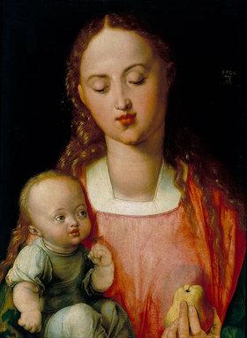 Albrecht Dürer: Die Madonna mit der Birne