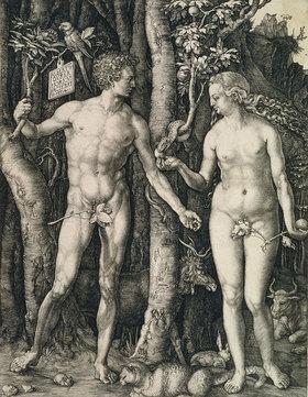 Albrecht Dürer: Adam und Eva