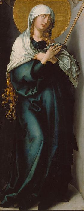 Albrecht Dürer: Maria als Schmerzensmutter. 1496/98(?)
