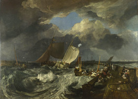Joseph Mallord William Turner: Die Mole von Calais
