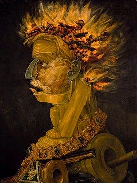 Giuseppe Arcimboldo: Das Feuer