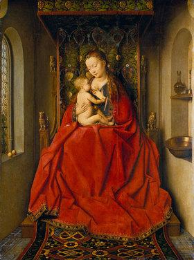 Jan van Eyck: Lucca-Madonna