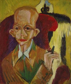 Ernst Ludwig Kirchner: Bildnis Oskar Schlemmer