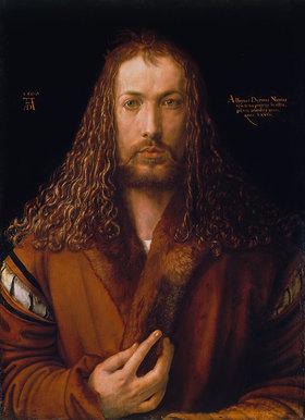 Albrecht Dürer: Selbstbildnis im Pelzrock