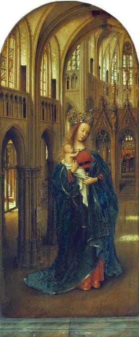 Jan van Eyck: Die Madonna in der Kirche