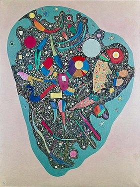 Wassily Kandinsky: Geordnete Anhäufung (Entassement réglée oder Ensemble multicolore)