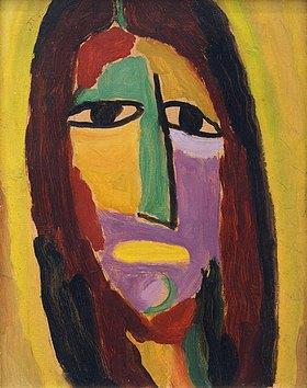 Alexej von Jawlensky: Mystischer Kopf: Johannes der Täufer