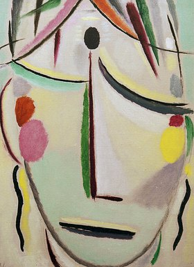 Alexej von Jawlensky: Face of the Saviour: Glance of last hope