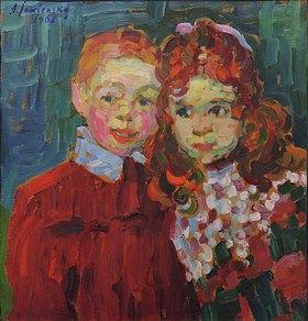 Alexej von Jawlensky: André und Katja
