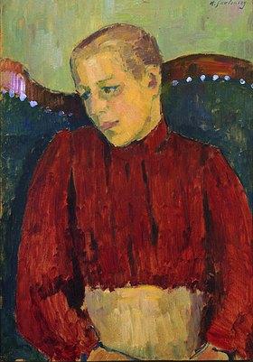 Alexej von Jawlensky: Kind auf dem Sofa