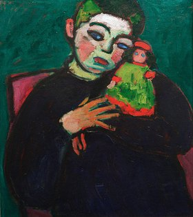 Alexej von Jawlensky: Child with puppet