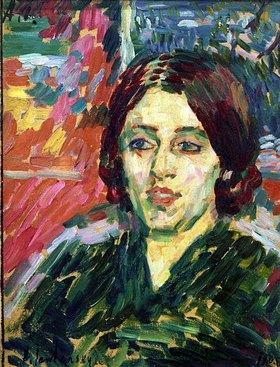 Alexej von Jawlensky: Madame Curie I
