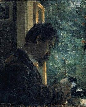 Alexej von Jawlensky: The artist Vasily Mathe at work