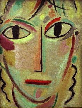 Alexej von Jawlensky: Mystischer Kopf: Staunen