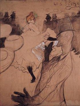 Henri de Toulouse-Lautrec: La Goulue und Valentin-le-Désossé