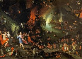 Jan Brueghel d.Ä.: Orpheus in der Unterwelt