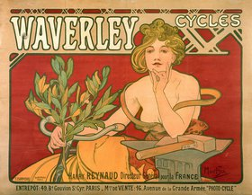 Alfons Mucha: Waverley Cycles