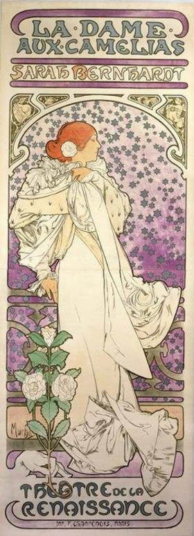 Alfons Mucha: La Dame aux Camelias / Théâtre de la Renaissance