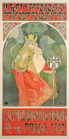 Alfons Mucha: 6. Sokol-Festival