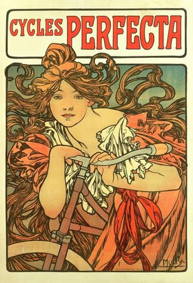 Alfons Mucha: Cycles Perfecta