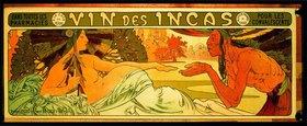 Alfons Mucha: Vin des Incas pour les convalescents