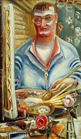 Paul Kleinschmidt: Selbstporträt