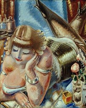 Paul Kleinschmidt: Reading Woman