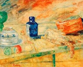 James Ensor: The blue Bottle