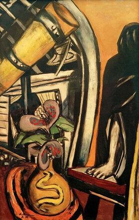 Max Beckmann: Atelier (Nacht)