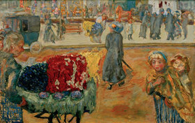 Pierre Bonnard: Abend in Paris