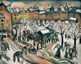 Emile Othon: Schnee in München